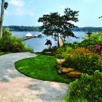 Annapolis waterfront residential landscaping