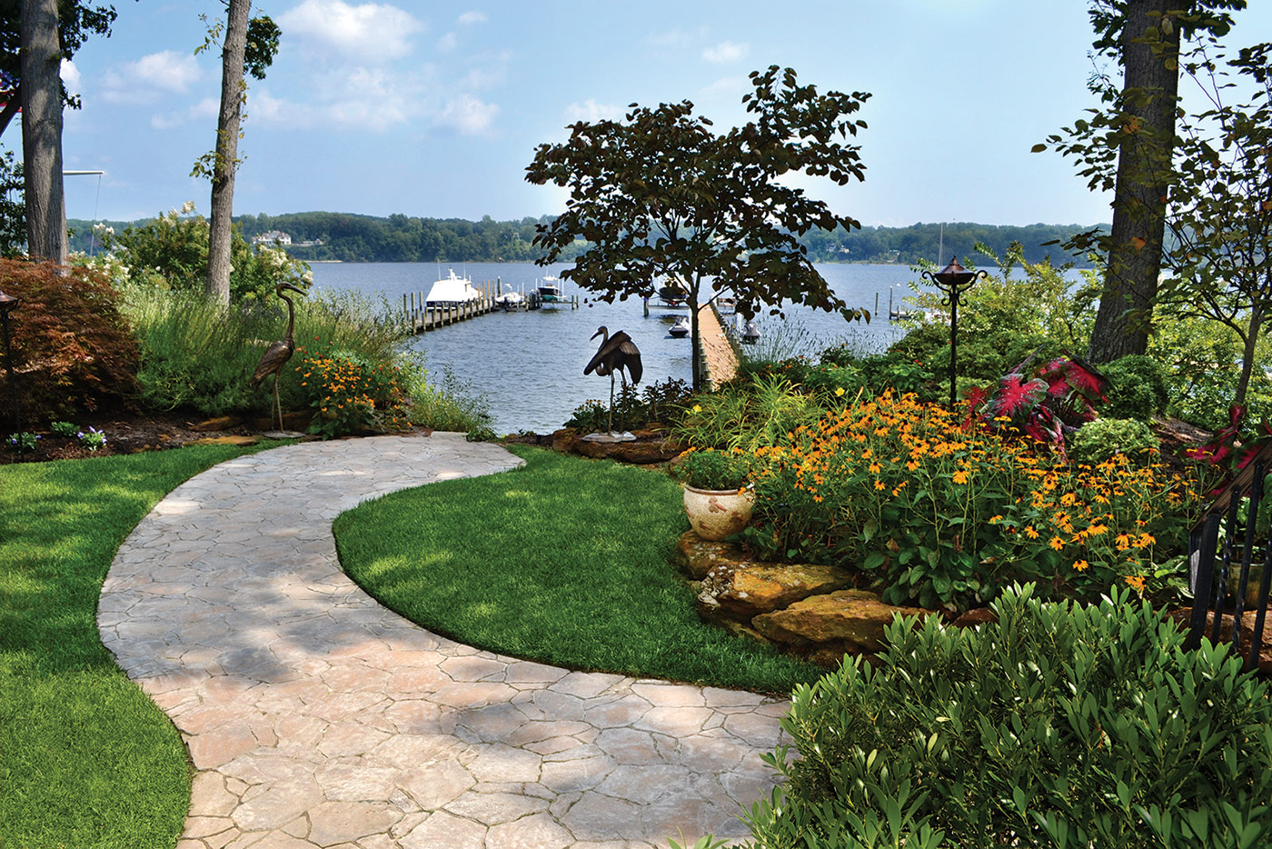Waterfront Landscaping - Homestead Gardens Landscape Division on Waterfront Backyard Ideas id=52191